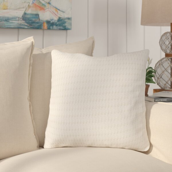 Brandywood 100% Cotton Throw Pillow by Rosecliff Heights